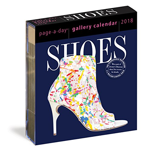 Price comparison product image Shoes Page-A-Day Gallery Calendar 2018