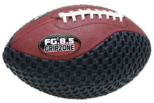 fun gripper-Grip Zone 8.5 inch Pee Wee Traditional Football, Black, Brown by: Saturnian I P.E Supplier