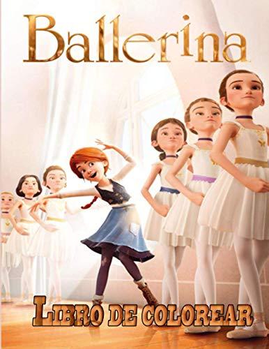 Ballerina libro de colorear