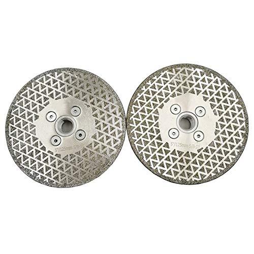 WEISHAN - Disco de corte de diamante para cortar baldosas de mármol 5/8-11