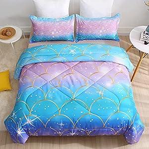 510JaqY9FqL._SS300_ Mermaid Bedding Sets & Comforter Sets