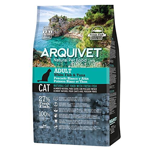 Arquivet Charity ASIN Pienso Natural para Gatos - Adult Pescado Blanco y...