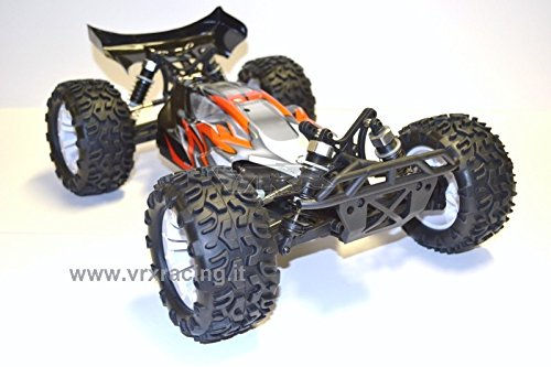 VRX MegaBuggy BUGSTER EBD Elettrico RC-550 Turbo Speed Radio 2.4Ghz Fly Sky 1:10 RTR 4WD