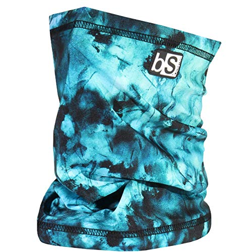 BlackStrap The Tube, Dual Layer Cold Weather Neck Gaiter and Warmer for Men and Women, Tie Dye Teal