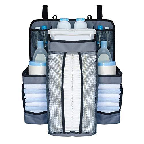 Kwekerij Organizer Multifunctionele nachtkastje opknoping tas voor een verscheidenheid van bedden grote capaciteit geen noodzaak om zich zorgen te maken over de dingen van de baby geen plaats om te zetten