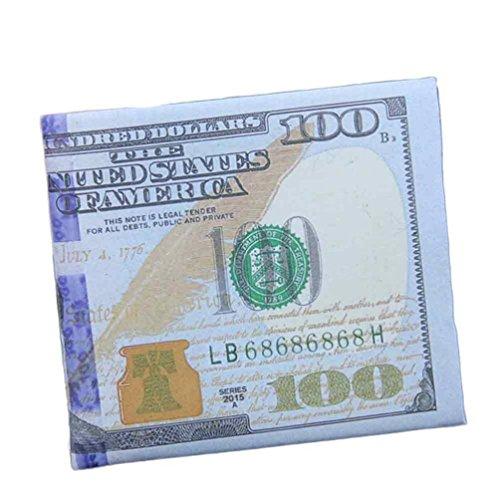 Männer Mini Geldbörse Goosun Währung Kreativität Leder Dünn Brieftasche Geldtasche Kartenhalter Multifunktion Portemonnaie Handschlaufe Clutch Handtasche Portmonee Kleinformat Geldbeutel (1 PC, A)