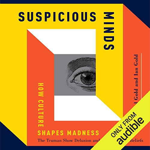 Suspicious Minds audiobook cover art