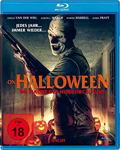 On Halloween - Die Nacht des Horrorclowns (uncut) [Blu-ray]