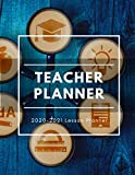 Teacher Lesson planner 2020-2021: prepare to be schooled teacher planner 2020-2021| Teacher academic planner Weekly and Monthly Calendar Agenda ... for school (Large academic planner 2020)