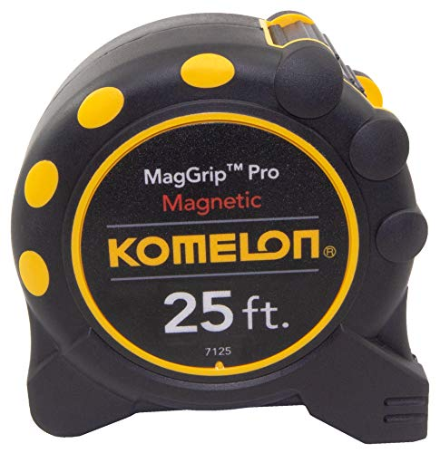 Komelon 7125 Monster Maggrip 25-Foot Measuring Tape with Magnetic End