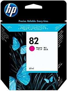 HP 82 (C4912A) Magenta OEM Genuine Inkjet/Ink Cartridge (69 ml) - Retail