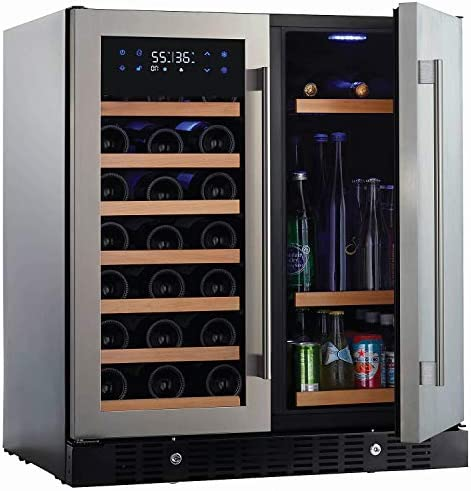 N FINITY PRO HDX by Wine Enthusiast Wine Beverage Center Holds 90 Cans 35 Wine Bottles Freestanding product image