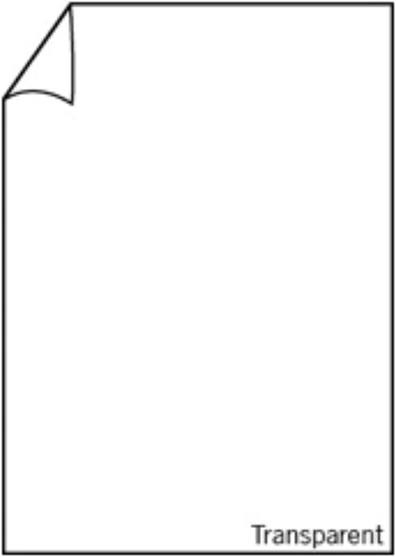Rössler Papier - - Paperado-10er Pack Blätter DIN A4, transp. Hochweiß - Liefermenge  10 Stück B07CX873T6  | Sehr gute Qualität