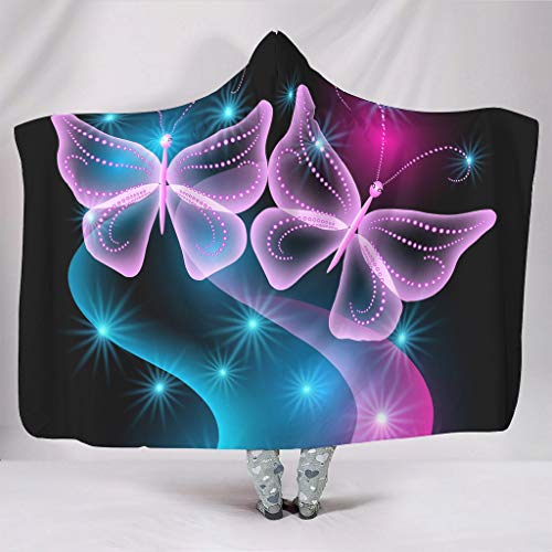 YxueSond Colorful Butterfly sprei Super SoftCozy Lichtgewicht Durable Sofadeken of Bedsprei Deken