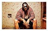 DOLUDO Leinwand Poster Big Lebowski Filmplakat Leinwand