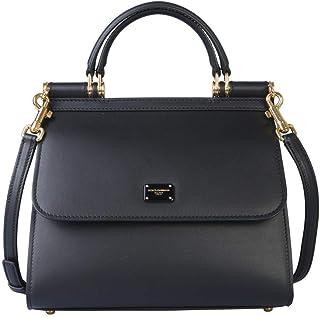 Luxury Fashion | Dolce E Gabbana Womens BB6622AV38580999 Black Handbag | Fall Winter 19