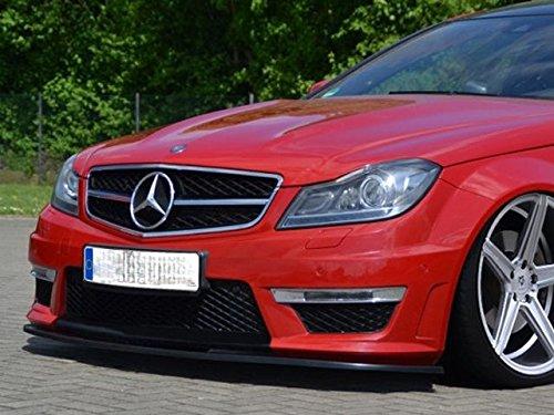 Generic Mercedes C-Klasse W204C204S204C63AMG Coupe Limousine Limousine Kombi Frontspoiler für