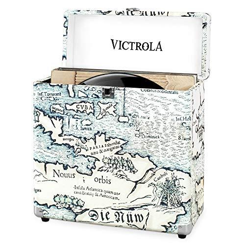Maleta de almacenamiento portátil Victrola Vinilos Record