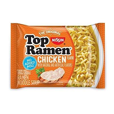 Nissin Top Ramen Chicken - 3 oz by