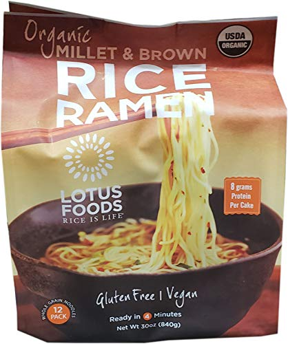Lotus Organic Brown Rice Ramen, 30 Ounce