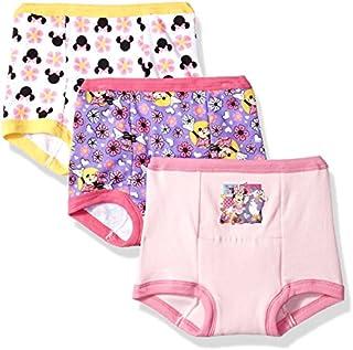 Disney Minnie Mouse Girls' 3-Pack Training Pants & Chart Set