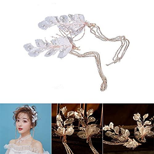 laoonl Diadema para novia, princesas tiaras para niñas, accesorios para el cabello...