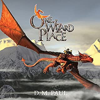 One Wizard Place audiobook cover art