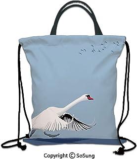 Large Weekender Carry-on Ambesonne Kids Gym Bag Cute Marine Creatures Art
