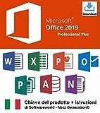 chiave del prodotto office professional plus 2019 a 32/64 bit con istruzioni da softwareworld - next generation®