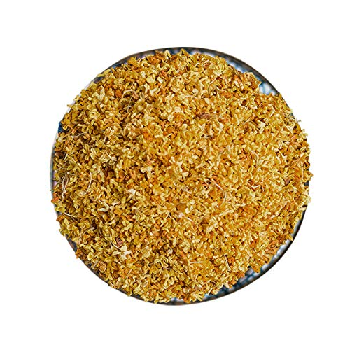 CoolCrafts Dried Osmanthus Edible Osmanthus Tea Top Grade Osmanthus Flowers for Cooking, Baking, Tea - 2 OZ