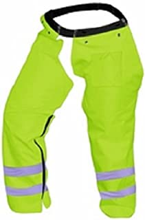Cold Creek Loggers Protective Trimmer Safety Chaps, Safety Green , Size 40