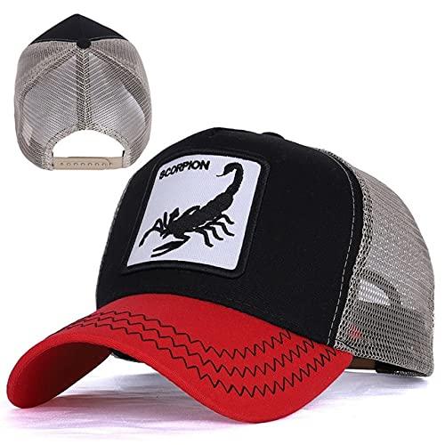 New Men's Baseball Cap Women Hat Snapback Hip Hop Cap Summer Mesh Hat Trucker Cap Gorra Dad Hat-a49