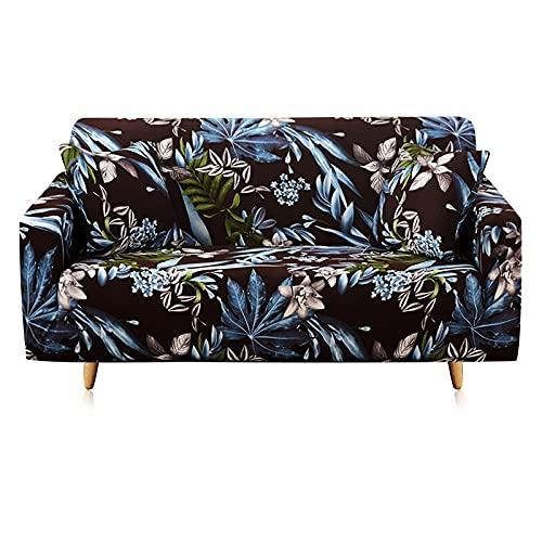 ASCV Fundas de sofá de Esquina Multicolor para Sala de Estar Fundas elásticas de Licra Fundas de sofá Funda de sofá elástica Toalla en Forma de L Necesita Comprar 2 Piezas A2 2 plazas