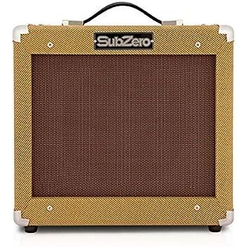 SubZero Tweed V35RG Amplificador de Guitarra: Amazon.es ...