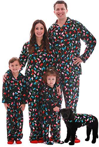 #followme Printed Flannel Family Pajamas - Mens 6745-10122-XXL