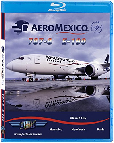 AeroMexico Boeing 787 & Embraer 190 [Blu-ray]