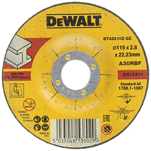 DeWALT DT42210Z doorslijpschijf metaal kroe. 115 x 2,8 mm, 1 stuk