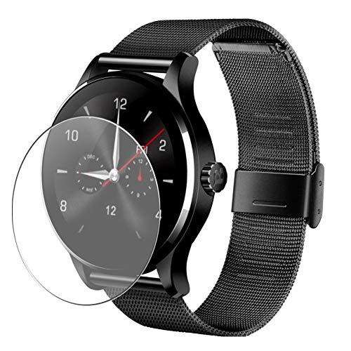 Vaxson 3 Unidades Protector de Pantalla, compatible con Smartwatch smart watch K88H [No Vidrio Templado] TPU Película Protectora