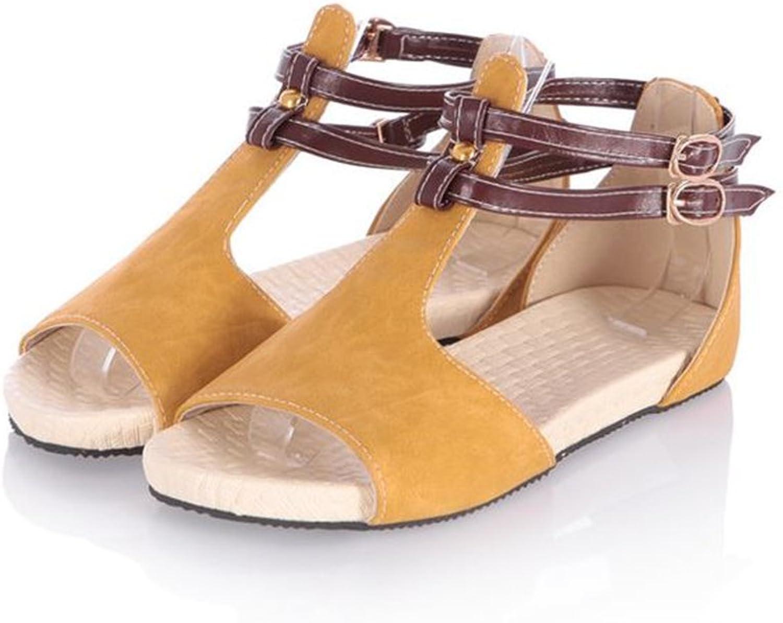 Women's Greek Platform Wedge Heel Toe Summer Sandals