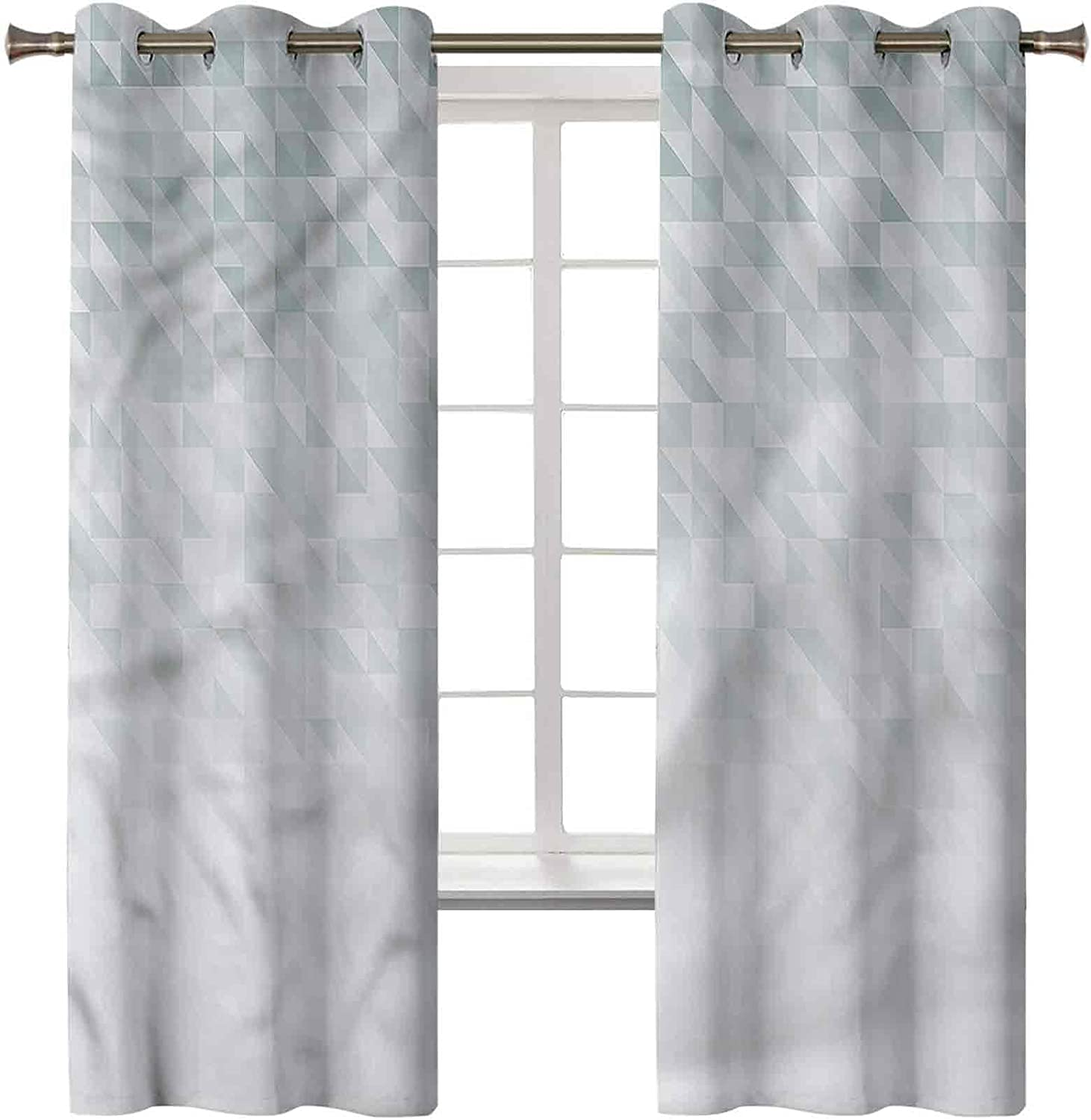 Grey Black Out Curtains Set of 2 Ranking TOP1 x Panels Pr Sound cheap 38W 45L Inch