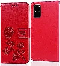 KINGCOM-Wallet Cases - Phone Case For Fundas for Lenovo A5000 A6000 A7000 A6010 A6020 A7020 A7010 Plus K10e70 P1ma40 K10A40 K33a42 Flip Leather Case Cover (Rose(Red) Lenovo A7000)