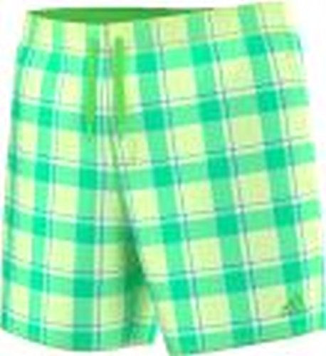 Adidas Check Short SL Boardshort Homme, Lime/Jaune/Bleu, FR (Taille Fabricant : XS)