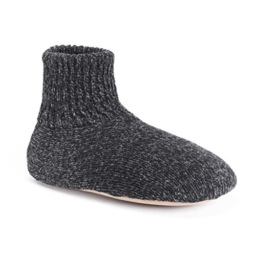 Muk Luks Men's Morty Slippers, black, X-Large