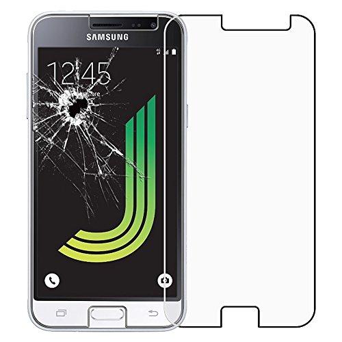 ebestStar - Cristal Templado Compatible con Samsung J3 2016 Galaxy SM-J320F Protector de Pantalla, Película Vidrio Protectora Ultrafina, Dureza 9H, Sin-Burbujas [Aparato: 142.3 x 71 x 7.9mm, 5.0'']