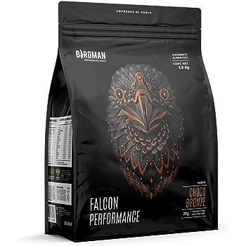 Birdman Falcon Performance Proteina Premium En Polvo, 30gr proteina, 3gr Creatina, Sin Inflamacion, Sin Acne, 50 Porciones Sabor Choco Bronze 1.9Kg