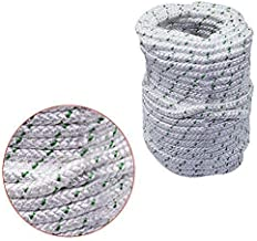 """findmall 3/8"""" x 100 feet Double Braid Polyester Rope 4800Lbs Breaking Strength Strong Pulling Rope for Climbing Sailing Ca..."""