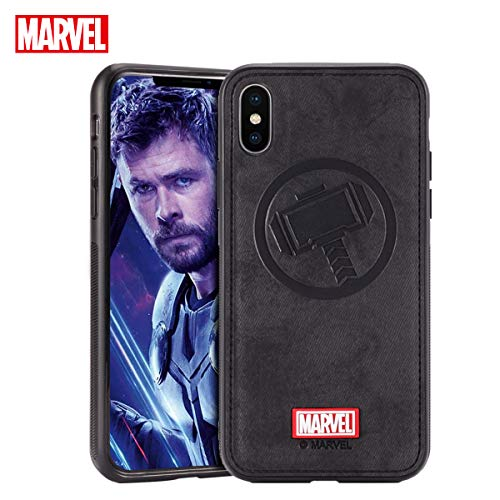 Marvel Avengers Endgame iPhone XR Case, Thor (Black)