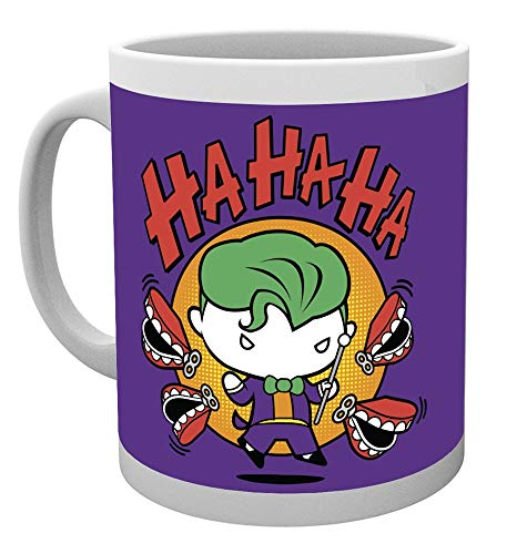 GB Eye, Justice League, Joker Chibi, Tasse,