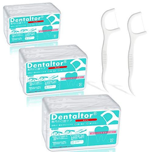 Dentaltor 糸ようじ デンタルフロス 50本入×3箱