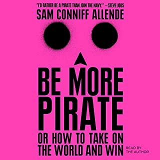 Be More Pirate audiobook cover art